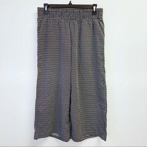 DANA BUCHMAN 3/4 Length Loose Wide Leg Pants